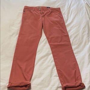Adriano Goldschmied men's salmon jeans. 32x34